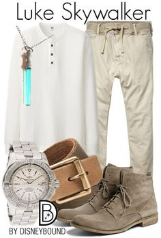 The force is strong with this Luke Skywalker outfit  | fashion | outfits | disneyland outfits | disney world outfits | disney fashion outfits | disneybound | disneybound outfits | disney outfits | disney outfit ideas |