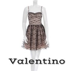 "Valentino Cocktail Dress % Authentic 100% Authentic Black and nude Red Valentino sleeveless pleated lace cocktail dress with sweetheart neckline and concealed zip closure at center back. Size US4/IT40. Excellent/perfect condition! Rare. Only worn once. Definitely a showstopper…perfect for your holiday party or NYE! This is a STEAL!!!!!  Measurements: Bust 28"", Waist 30"", Hip 32"", Length 35"" Fabric Content: 100% Polyester  ❌Trades ❌PayPal  ✅OFFERS Welcome Valentino Dresses"