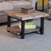 """Found it at Wayfair - Pomona 27"""" Reclaimed Wood Square Coffee Table"""