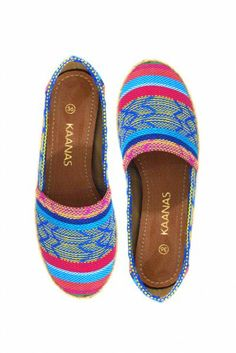 Kaanas 'Tulum Sunset' Shoes   Orchid Boutique Love these for the upcoming summer 2014
