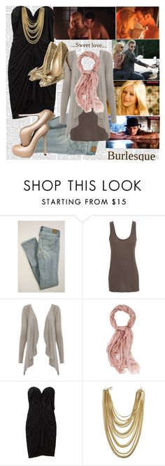 """""""Burlesque"""" by marianna-merien ❤ liked on Polyvore featuring American Eagle Outfitters, The Row, Faliero Sarti, Alexander Wang, Janis Savitt, KG Kurt Geiger, Yves Saint Laurent, suede pumps, cam gigandet and gold"""