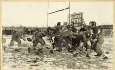 1921 Curly Lambeau Green Bay Packers Action