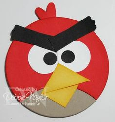 Angry Bird punch art