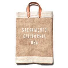 Have you gotten your hands on one of our Apolis collaboration totes yet? DISPLAY: California is the only place to get one!