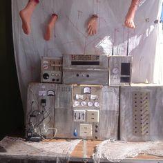Home made generator Halloween prop