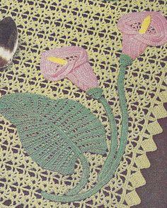 Simple Crochet Doilies Free Pattern | LILY DOILY PATTERN | 2000 Free Patterns