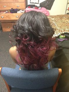 Malaysian deep wave. Curled and colored