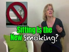 Sitting Is the New Smoking?? + MORE - http://www.blog.takeonlineyogaclasses.com/sitting-is-the-new-smoking-more/