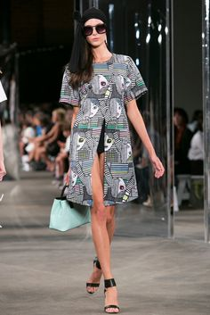 A look from the Milly Spring 2015 RTW collection.