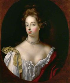 """Nell Gwynn by Verelst, National Portrait Gallery London - Member of the """"Charles II's Mistresses Club"""" the portraits of which could fill it's own gallery.  Fortunately for is, Charles II had them painted, often, by the leading painters of the day including Lely & Mignard."""