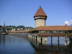 Lucerne, Switzerland. I can't wait to go back!