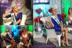 Reinado Internacional del Café 2016, Maydeliana Diaz Parada on her media tour