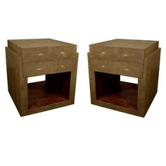 Shagreen Side Tables Night Stands 1