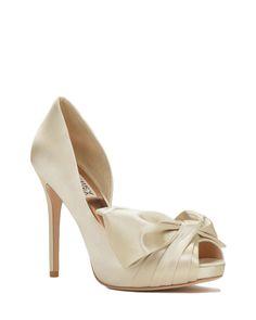 Niara Bow Detail Evening Shoe