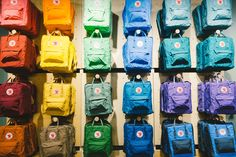 The Kånken rainbow at our Mall of America store!