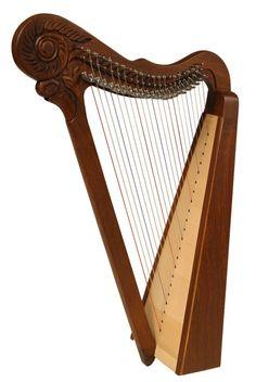 Parisian Harp for sale, musical instrument