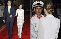Los Reyes de Espana recibidos con todos los honores en Marruecos