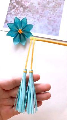 Diy Crafts Hacks, Diy Crafts For Gifts, Crafts For Teens, Cool Paper Crafts, Paper Crafts Origami, Fun Crafts, Paper Flower Tutorial, Paper Flowers Diy, Instruções Origami
