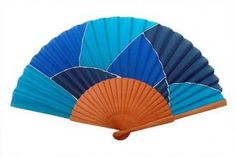 Hand Held Fan, Hand Fans, Coloring Books, Coloring Pages, End Of Year Activities, Fan 2, Design Art, Antiques, Blue