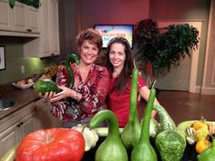 Heidi and I talking gourds on CTV Morning Live Oct 17th, 2012