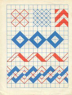 n1 cahier dessin carreau p1 by pilllpat (agence eureka), via Flickr