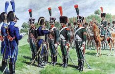 Cavaliers 1st Chasseurs à Cheval receiving the Legion of Honor