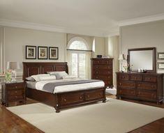 Vaughan Basset Reflections King Bedroom Group