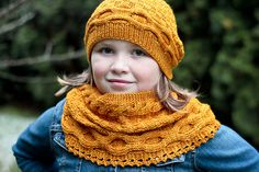 Ravelry: Below Zero Scarf and Cowl pattern by Elena Nodel