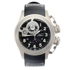 Hamilton Khaki Navy automatic via MarCels. Click on the image to see more!