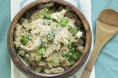 Sesame Quinoa with Chicken and Snap Peas