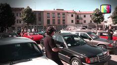 """Mede (PV) - Il raduno Fiat 500 ed auto storiche, """"Veterane e 500 tra le risaie"""" su TVItaliaWeb."""