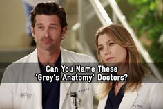 Can You Name These 'Grey's Anatomy' Doctors? - Do you have what it takes to be the chief of this quiz? - Quiz