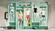a suitcase full of sports ,pinned by Ton van der Veer