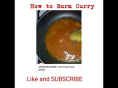 JAMAICAN Food : How to burn Curry powder, Perfect your skill today ! Jamaican Cuisine, Jamaican Dishes, Jamaican Recipes, Creole Kitchen, Curry Powder, Burns, Youtube, Food, Essen