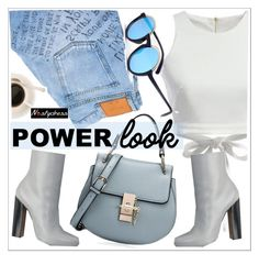 """""""What's Your Power Look?"""" by teoecar ❤ liked on Polyvore featuring Gucci"""