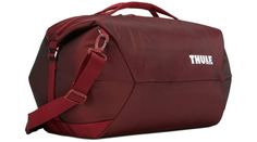 Thule Subterra Duffel Bag, Ember, 60 L Luggage Store, Luggage Bags, Nylons, Le Large, Commuter Bike, Online Bags, Duffel Bag, Traveling By Yourself, Shoulder Strap