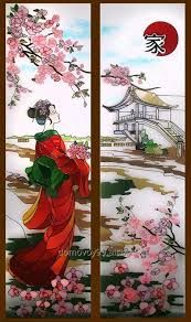Image result for japanese style stained glass