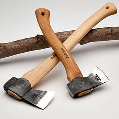 Wetterlings Camper's Hatchet & Forest Axe.  Hand Forged Swedish Wetterlings Axes. Superb for Camping, Hiking & Bushcraft.
