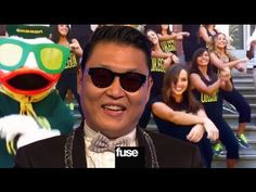 "PSY Reacts to ""Gangnam Style"" Parodies - Britney, Oregon Duck, Babies Mom (싸이 / 강남스타일)"