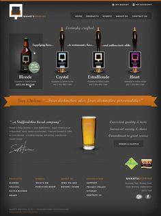 Quartz Brewing - Web Design, Ecommerce