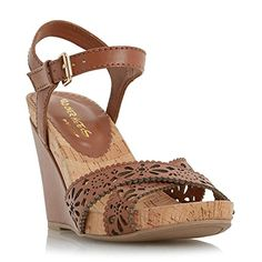 Dune Head Over Heels Damen KAMILLA Laser Cut Wedge Sandal Hellbraun Größe EUR 37 - http://on-line-kaufen.de/dune/37-eu-dune-head-over-heels-damen-kamilla-laser-cut-2