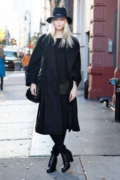 Winter Street Style Photos - Winter Coats Street Chic Photos - ELLE