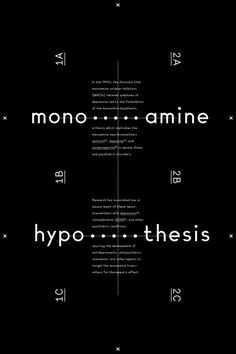 Creative Typography, Monoamine, Hypothesis, -, and Andrew image ideas & inspiration on Designspiration Graphic Design Books, Book Design Layout, Print Layout, Book Cover Design, Poster Layout, Typography Letters, Typography Design, Lettering, Editorial Layout