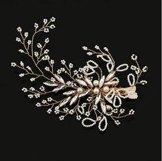 2017 New Bridal Hair Accessories 18k Gold Plated Fresh Water Pearl Bridal Hair Duck Pin Wedding Bridal Head Pieces Wedding Hair Accessories From Janet2011, $12.57 | Dhgate.Com