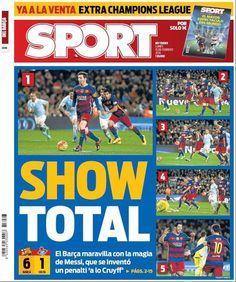 Rassegna stampa estera: Messi incanta il Camp Nou - http://www.maidirecalcio.com/2016/02/15/rassegna-stampa-estera-7.html