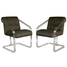Pair of Lucite Arm Chairs by Lion in Frost   From a unique collection of antique and modern armchairs at http://www.1stdibs.com/furniture/seating/armchairs/