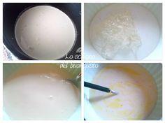 Panna cotta aromatizzata 8 formine  – 500 ml di panna per dolci non montata  – 95 ml di latte  – 4 fogli di colla di pesce  – 97 gr di zucchero  – 2 cucchiai di rhum  – 1 fiala di aroma all'arancia  – 1 fiala di colorante alimentare arancione  – 1 cucchiaio di cacao zuccherato per la decorazione