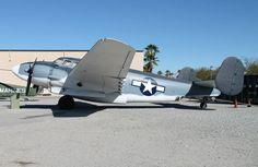 Lockheed Hudson bomber, US Navy, WW2. Palm Springs Air Museum. Photo by Patrick Mack.