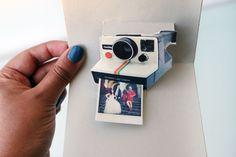 Imprimible pop up polaroid