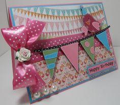 Cricut Card: Birthday Bash - love this card!